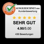 Ausgezeichnet org Kundenbewertung Sehr Gut