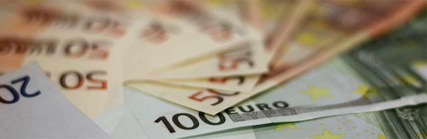 Geldscheine - Aufschläge